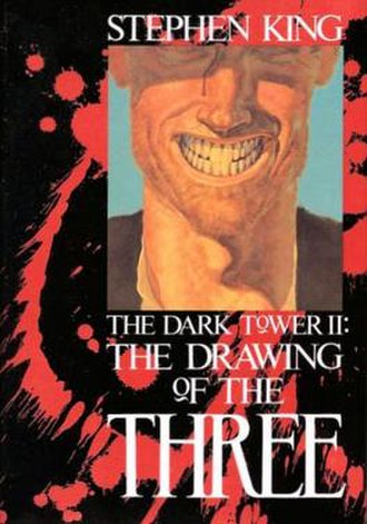 The Dark Tower II: The Drawing of the Three - First edition cover