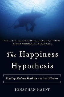 <i>The Happiness Hypothesis</i> book by Jonathan Haidt