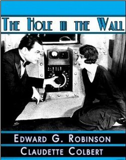 <i>The Hole in the Wall</i> (1929 film) 1929 film
