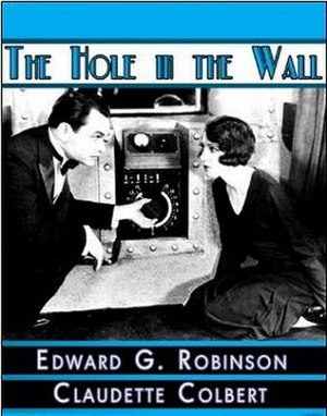 The Hole in the Wall (1929 film) - Image: The Hole in the Wall dvd cover