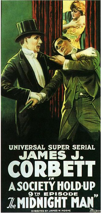 The Midnight Man (1919 film) - Theatrical poster to The Midnight Man (1919)