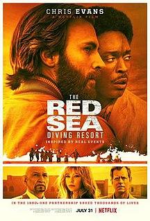 <i>The Red Sea Diving Resort</i> 2019 Netflix film