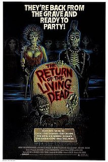 <i>The Return of the Living Dead</i> 1985 American black comedy/zombie film directed by Dan OBannon