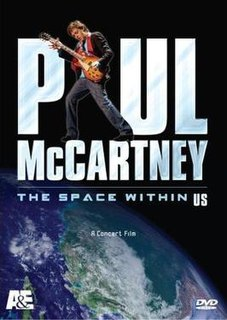 <i>The Space Within US</i> 2006 video by Paul McCartney