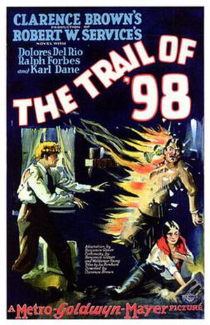 The Trail of '98 - Theatrical poster
