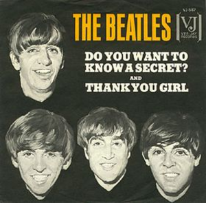 Do You Want to Know a Secret - Image: The beatles do you want to know a secret