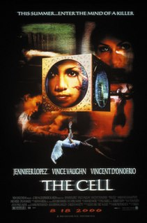 <i>The Cell</i> 2000 science fiction psychological horror film