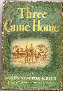<i>Three Came Home</i> (book) memoir