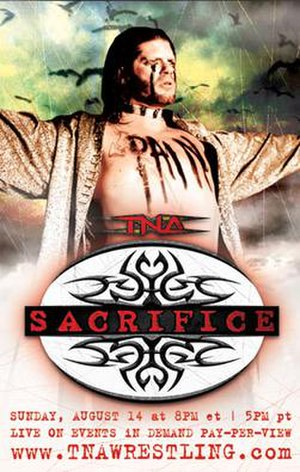 Sacrifice (2005) - Promotional poster featuring Raven