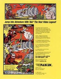 <i>Toki</i> (video game) 1989 video game