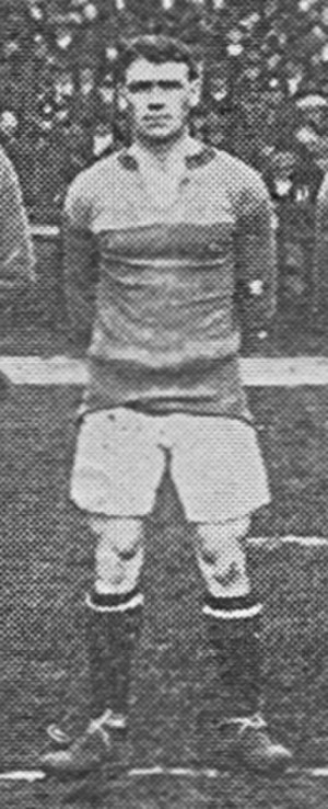 Tom McGovern - McGovern while with Brentford in 1919.