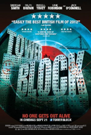 Tower Block (film) - Theatrical movie poster