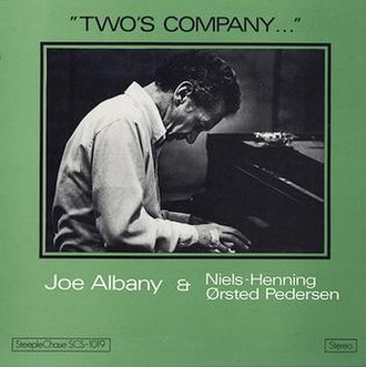 Two's Company (Joe Albany and Niels-Henning Ørsted Pedersen album) - Image: Two's Company (album)