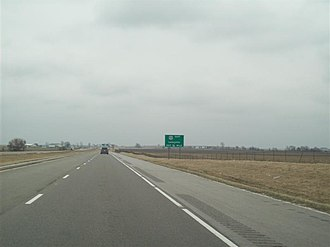 U.S. Route 41 in Indiana - US 41/52 interchange