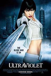 <i>Ultraviolet</i> (film) 2006 film by Kurt Wimmer