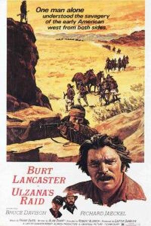 Ulzana's Raid - Film poster