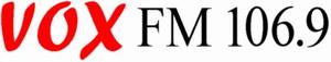 VOX FM - Image: VOX FM (logo)