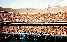 87978aa0a Veterans Stadium during the 1980 NFC Championship Game against the Dallas  Cowboys