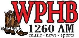 WPHB - Image: WPHB 1260AM logo