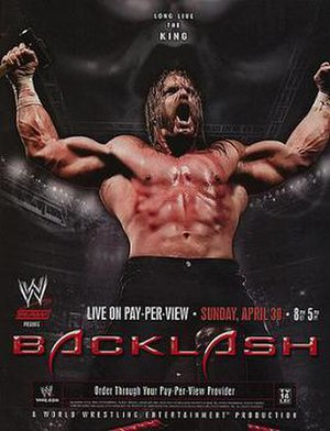 Backlash (2006) - Promotional poster featuring Triple H