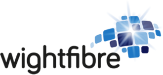WightFibre - Current WightFibre logo