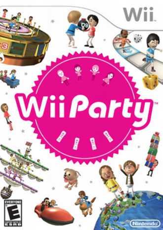Wii Party - Image: Wii Party boxart