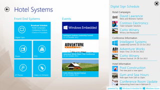 Windows IoT embedded operating system by Microsoft