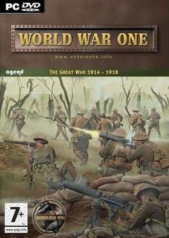 World War One (video game) - World War One cover art