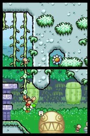 Yoshi's Island DS - Image: Yoshis Island D Sscreen