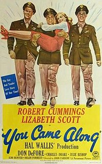 <i>You Came Along</i> 1945 film by John Farrow