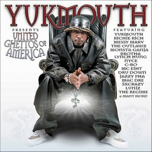 United Ghettos of America - Image: Yukmouth United Ghettos of America in 2002