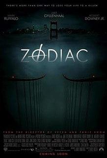 <i>Zodiac</i> (film) 2007 film by David Fincher
