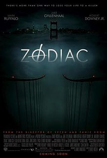 Zodiac (2007) (In Hindi) SL VBB - Jake Gyllenhaal, Mark Ruffalo, Anthony Edwards, Robert Downey Jr., Brian Cox, John Carroll Lynch, Richmond Arquette, Bob Stephenson, John Lacy