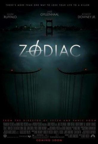 Zodiac (film) - Theatrical release poster