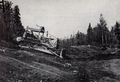 101 construction between Chapleau and Foleyet, 1961.png