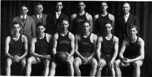 1927–28 Michigan Wolverines men's basketball team - Image: 1927 1928 Michigan Wolverines men's basketball team