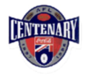 1996 AFL Grand Final - Image: 1996AFLCentenary