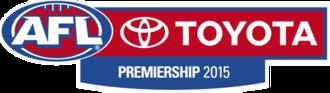 2015 AFL season - Image: 2015 AFL season logo
