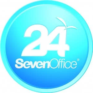 24SevenOffice - Image: 24Seven Office logo round
