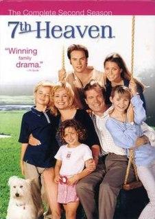 <i>7th Heaven</i> (season 2) season of television series