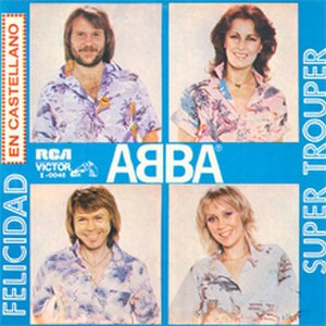 Happy New Year (song) - Image: ABBA Felicidad (Argentina)