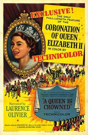 A Queen Is Crowned - Image: A Queen Is Crowned Film Poster
