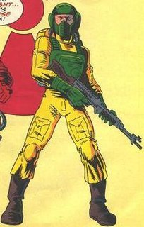 Airtight (<i>G.I. Joe</i>) fictional character