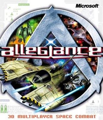 Allegiance (video game) - Image: Allegiance Coverart