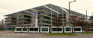 Grand Est - The current headquarters of the Alsace Regional Council, which serves as the headquarters of Grand Est's regional council