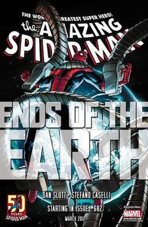 Ends of the Earth (Marvel Comics) - Image: Amazing Spider Man 682