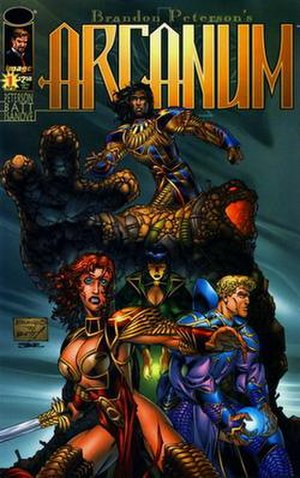 Arcanum (comics) - Cover of the first issue