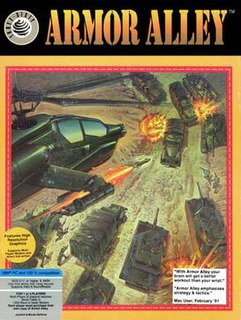 <i>Armor Alley</i> 1990 video game