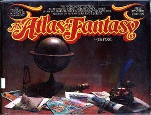 An Atlas of Fantasy - Cover, revised edition