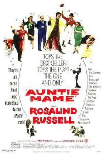 Auntie Mame (film) - Theatrical release poster